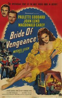 Bride of Vengeance - 11 x 17 Movie Poster - Style A
