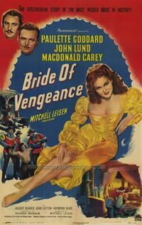 Bride of Vengeance - 27 x 40 Movie Poster - Style A