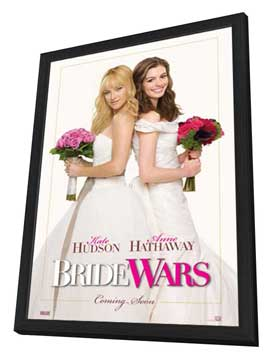 Bride Wars - 11 x 17 Movie Poster - Style A - in Deluxe Wood Frame