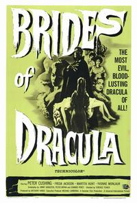 The Brides of Dracula - 27 x 40 Movie Poster - Style A