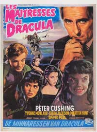 The Brides of Dracula - 27 x 40 Movie Poster - Belgian Style A