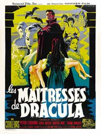 The Brides of Dracula - 27 x 40 Movie Poster - French Style B
