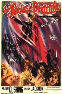 The Brides of Dracula - 27 x 40 Movie Poster - Spanish Style C
