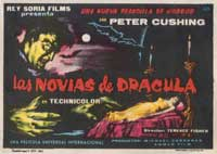 The Brides of Dracula - 27 x 40 Movie Poster - Spanish Style A