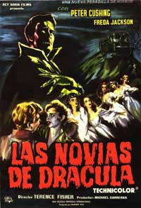 The Brides of Dracula - 11 x 17 Movie Poster - Spanish Style B