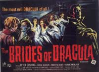 The Brides of Dracula - 30 x 40 Movie Poster UK - Style A