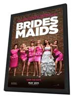 Bridesmaids - 11 x 17 Movie Poster - Style A - in Deluxe Wood Frame