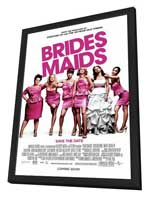 Bridesmaids - 27 x 40 Movie Poster - Style A - in Deluxe Wood Frame