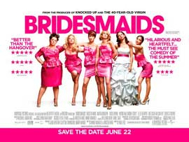 Bridesmaids - 11 x 17 Movie Poster - UK Style A