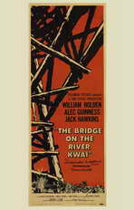 The Bridge on the River Kwai - 11 x 17 Movie Poster - Style B