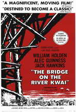 The Bridge on the River Kwai - 27 x 40 Movie Poster - Style C