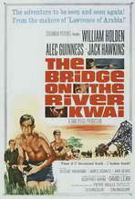 The Bridge on the River Kwai - 27 x 40 Movie Poster - Style D