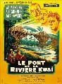 The Bridge on the River Kwai - 11 x 17 Movie Poster - French Style A