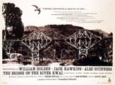 The Bridge on the River Kwai - 11 x 14 Movie Poster - Style D