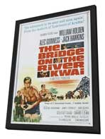 The Bridge on the River Kwai - 27 x 40 Movie Poster - Style D - in Deluxe Wood Frame