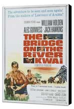 The Bridge on the River Kwai - 27 x 40 Movie Poster - Style D - Museum Wrapped Canvas