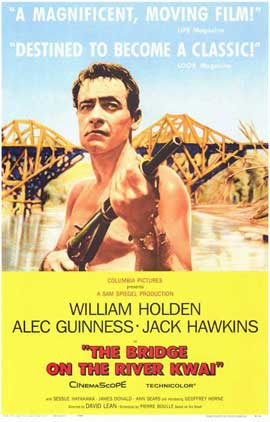 The Bridge on the River Kwai - 11 x 17 Movie Poster - Style A