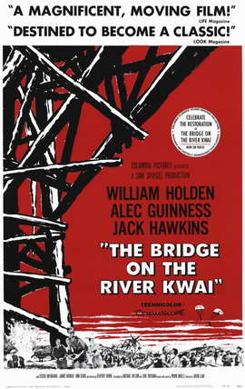 The Bridge on the River Kwai - 11 x 17 Movie Poster - Style D