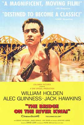 The Bridge on the River Kwai - 27 x 40 Movie Poster - Style A