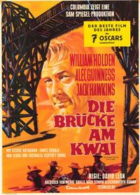 The Bridge on the River Kwai - 11 x 17 Movie Poster - German Style A