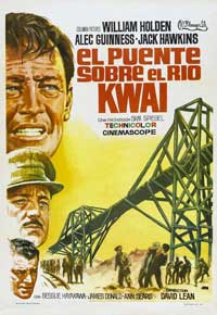 The Bridge on the River Kwai - 11 x 17 Movie Poster - Spanish Style A