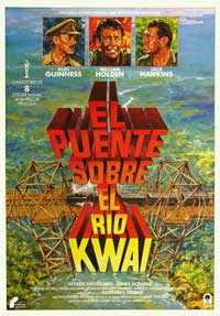 The Bridge on the River Kwai - 27 x 40 Movie Poster - Spanish Style B