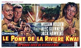 The Bridge on the River Kwai - 20 x 40 Movie Poster - Belgian Style A