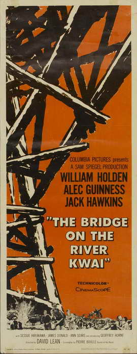 Bridge on the River Kwai - 14 x 36 Movie Poster - Insert Style A