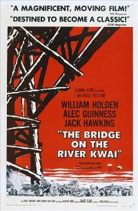 The Bridge on the River Kwai - 43 x 62 Movie Poster - Bus Shelter Style B