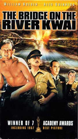 The Bridge on the River Kwai - 11 x 17 Movie Poster - Style G