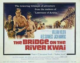 The Bridge on the River Kwai - 11 x 14 Movie Poster - Style B