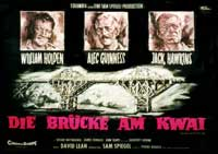 The Bridge on the River Kwai - 11 x 14 Poster German Style A