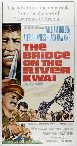 The Bridge on the River Kwai - 20 x 40 Movie Poster - Style A