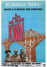 The Bridge on the River Kwai - 11 x 17 Movie Poster - Style I