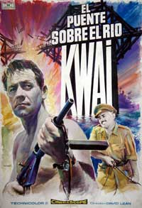 The Bridge on the River Kwai - 11 x 17 Movie Poster - Spanish Style C