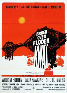 Bridge on the River Kwai - 11 x 17 Movie Poster - Danish Style A