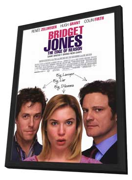 Bridget Jones: The Edge of Reason - 27 x 40 Movie Poster - Style A - in Deluxe Wood Frame