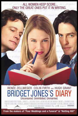 Bridget Jones's Diary - 27 x 40 Movie Poster - Style B