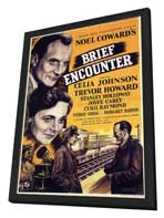 Brief Encounter - 11 x 17 Movie Poster - Style A - in Deluxe Wood Frame