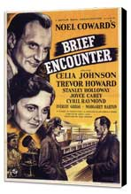 Brief Encounter - 11 x 17 Movie Poster - Style A - Museum Wrapped Canvas