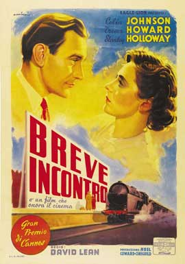 Brief Encounter - 27 x 40 Movie Poster - Italian Style A