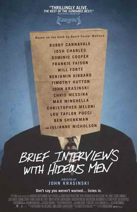 Brief Interviews with Hideous Men - 11 x 17 Movie Poster - Style A