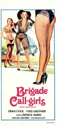 Brigade Call-Girls - 13 x 28 Movie Poster - Italian Style A