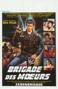 Brigade des moeurs - 27 x 40 Movie Poster - Belgian Style A