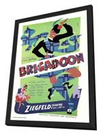 Brigadoon (Broadway) - 27 x 40 Poster - Style A - in Deluxe Wood Frame
