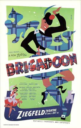 Brigadoon (Broadway) - 27 x 40 Poster - Style A