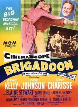 Brigadoon - 11 x 17 Movie Poster - Style D