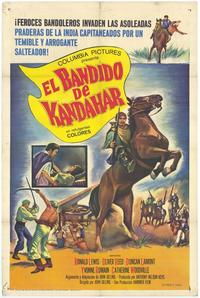 The Brigand of Kandahar - 11 x 17 Movie Poster - Spanish Style A
