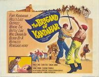 The Brigand of Kandahar - 22 x 28 Movie Poster - Half Sheet Style A