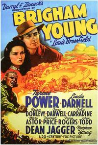 Brigham Young - 27 x 40 Movie Poster - Style A